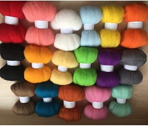 Xuccus wolvilt Mixed Colors fieltro Fibr naaldvilten Wool Merino Special price OFFicial
