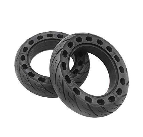 Repuesto Neumático Rueda 10 Pulgadas para Antideslizante Amortiguar Los Choques Reemplazo Llanta Delantera/Trasera Scooter Escúter Balanceante 10 ×2.5,10×2.125,2tires10×2.125