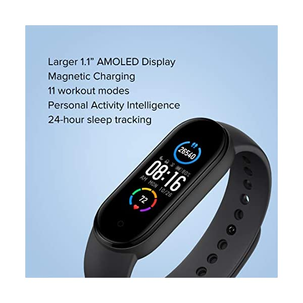 Best Women's Health Tracking fitness band under 3000 : Mi Smart Band 5
