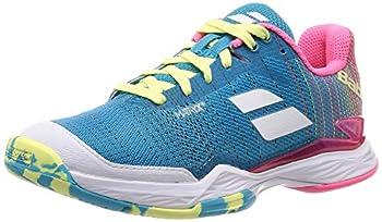 Babolat Jet Mach II AC Womens Tennis Shoe  Blue/Pink   7.5