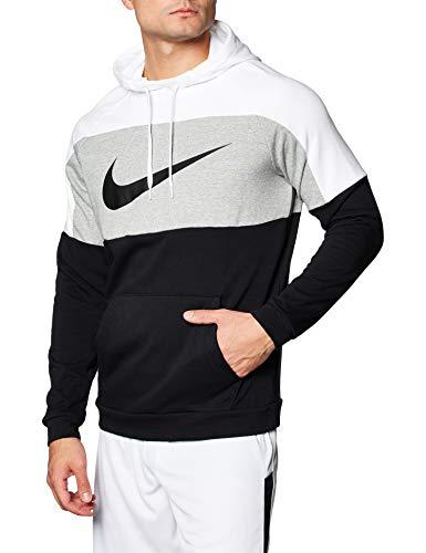 Photo of NIKE Men's M NK DF Miler TOP LS Long Sleeved T-Shirt, Black/(Reflective Silv), XL