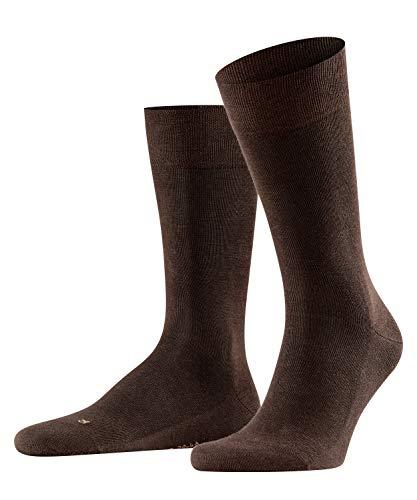 FALKE Herren Socken Sensitive London - 94prozent Baumwolle, 1 Paar, Braun (Brown 5930) 43-46