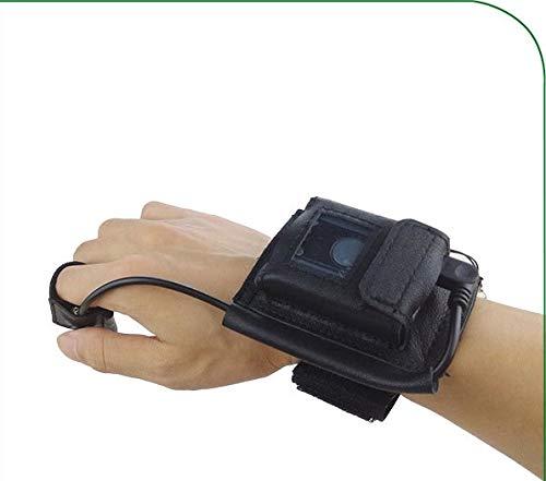Trigger Handschuh für 1D Laser & CD 2D Imager Mini Pocket Scanner Warehouse Pickup, tragbare Handgelenkschlaufen Barcode Handsfree Wireless Storage Reader
