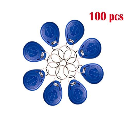 YAVIS 100 pcs Llaveros genéricos Escribir Reescritura