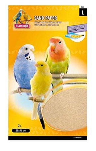 Cajou 84 Stück Vogel-Sandteppich hygienisch sauber, einfach zu reinigen (28 x 46 cm)
