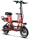 Xiaokang Bicicleta eléctrica Padre-niño Plegable Mini Coche eléctrico pequeño Ligero portátil portátil batería asistida por energía,48v,6A