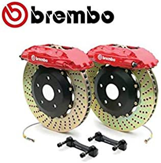 Brembo 2P1.8031A1 GT Big Brake Kit Rear Drilled Pontiac G8 08-09