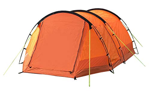 OLPRO Outdoor Leisure Products Abberley 3.7m x 2.2m 2 Berth Tunnel Tent Orange