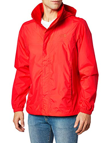 The North Face Men's Resolve Jacket, Fiery Red, Small