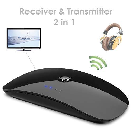 Dibiao Transmitter voor films, CD-speler, muziekontvanger, Bluetooth, draadloos, met 3,5 mm oplaadkabel