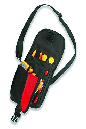 Plano PLO05561NR Bolsillo Porta Bandas elásticas para Herramientas de precisión, Negro, 0
