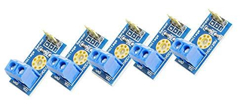 5Stück Mini Spannungssensor Voltage Sensor Modul bis 25V für Arduino Mikrocontroller