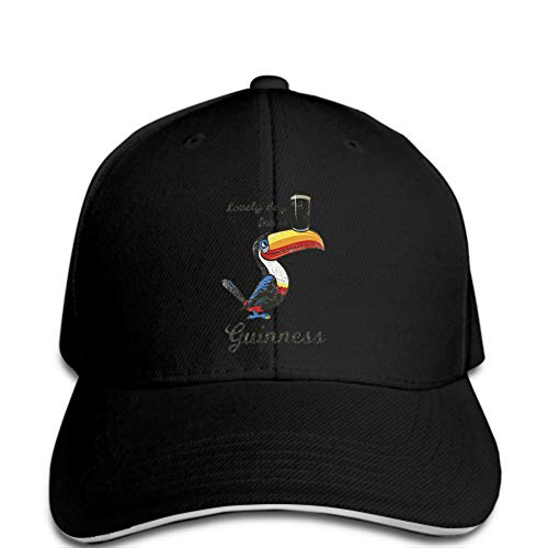 Baseball Cap Herren Baseball Cap Cute Day Guinness Lustiger Hut Ying Hat Lady