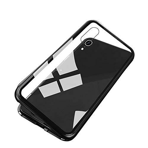 Docooler Magneto Magneto Capa de Adsorção Magnética Vidro Temperado Transparente para iPhone 6/6S/7/8/7Plus/8Plus/X/XS/XR/XS Max