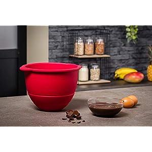 Krups Premium Küchenmaschine 17 teilig, 4,6L Edelstahlschüssel, Silikonschüssel, 4 Rührwerkzeuge Edelstahl, spülmaschinenfest, 1100W, Schnitzelwerk, Fleischwolf, Gratis Rezepte und 12er Cupcake Form
