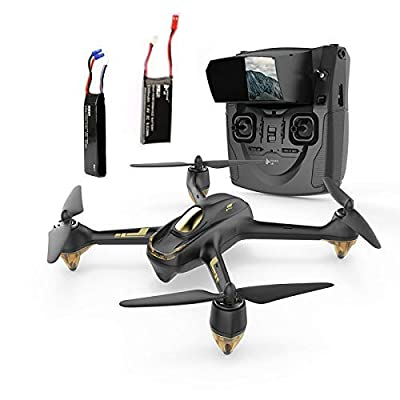 Hubsan H501S Drone GPS fpv with 1080P HD camera 5.8G live video RC quadcopter Follow me ,Altitude mode,Automatic Return, Headless Mode Great for adults include drone and RC batteries(Upgraded version)