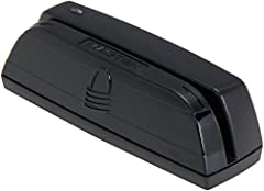 Dynamag Magnesafe magnetic stripe swipe reader Triple track magnetic stripe track configuration Bi-directional card reading Interfaces/ports: USB 2.0 USB and PS/2 keyboard wedge Compatible with USB and HID specification