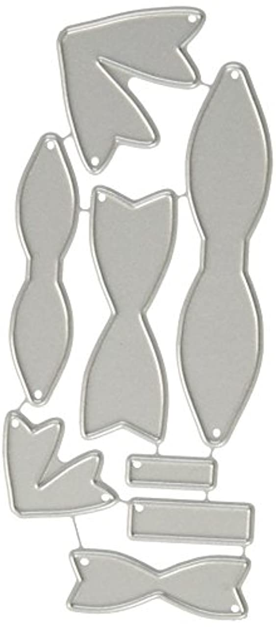 Your Next Stamp YNSD378 Die Small & Mini Bow Set, Grey