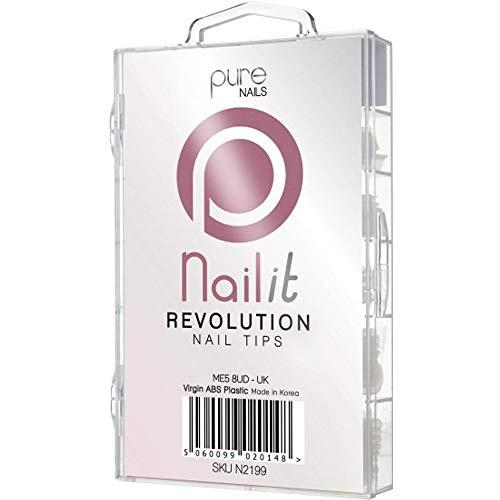 Pure Nägel nailit Revolution Nail Tipps–gemischt 100