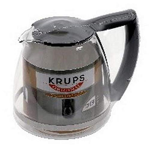 Krups Krups F5394210 Kaffeekanne aus Glas, Schwarz