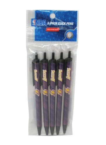 NBA Los Angeles Lakers Disposable Click Pens
