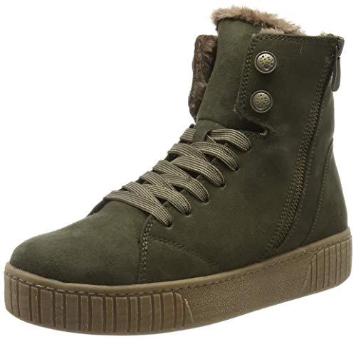 MARCO TOZZI Damen 2-2-26264-23 Hohe Sneaker, Grün (Khaki 725), 40 EU