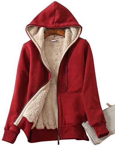 Hooded Sherpa Coat