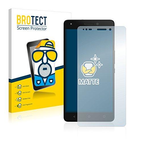 BROTECT 2X Entspiegelungs-Schutzfolie kompatibel mit BQ Aquaris M5.5 Bildschirmschutz-Folie Matt, Anti-Reflex, Anti-Fingerprint