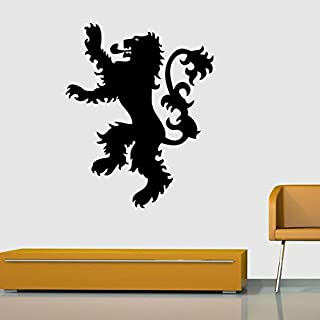 of Thrones Hear Me Roar Wall Stickers Art Sticker House Lannister Home Decoration 57x44