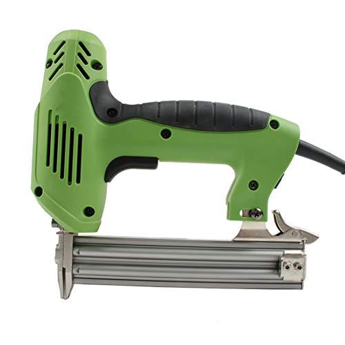 Release Grapadora eléctrica 1800W, Grapadora y clavadora for Muebles, Grapadora for Marco con Grapas y Clavos, Herramientas de carpintería for carpintería 220V