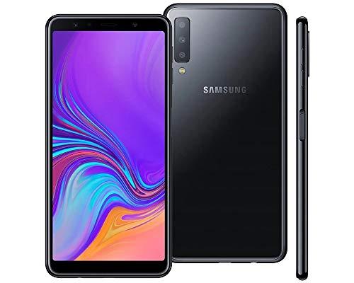 Smartphone Galaxy A7 2018 128gb 4gb Ram Câmera Tripla- Preto