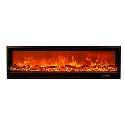 NINAINAI Home Electric Fireplace Inserte de Estufa de Chimenea eléctrica Duradera con...