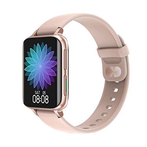 Relojes inteligentes para mujeres, reloj inteligente para teléfonos Android y teléfonos iOS, pantalla táctil completa de 1,78 ', podómetro resistente al agua IP67, rastreador de actividad física con
