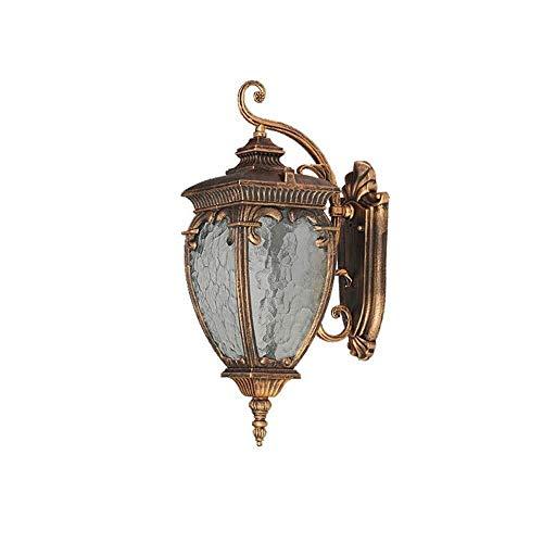 Plafondlamp Wandlamp, Europees LED Wall Lamp, buiten waterdichte E27 Glass Wall Lights, Villa Garden Courtyard Balkon Aisle Wandverlichting