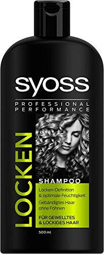 3x Syoss Locken Shampoo je 500ml Für Gewelltes & Lockiges Haar Locken-Definition