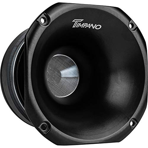 Timpano TPT-DH2000 2-Inch Compression Exit Aluminum Horn + Ferrite Driver, 200 Watts Continuous Power, 100 Watts RMS Power, 8 Ohms Impedance, 109 dB Sensitivity, 1.0KHz – 20KHz Frequency Response