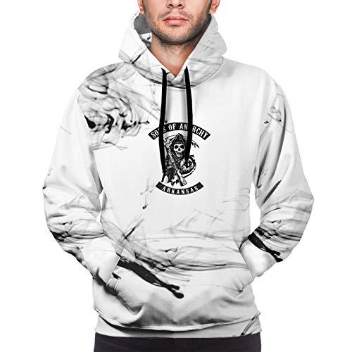 huatongxin Boutique Sons of Anarchy Herren Hoodie Pullover Langarm Schwergewicht Sweatshirt