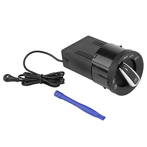 golf mk4 Interruptor de control del faro, Interruptor de faro automático, Interruptor de control de la lámpara del faro automático Módulo del sensor de luz para Golf MK4 Passat B5