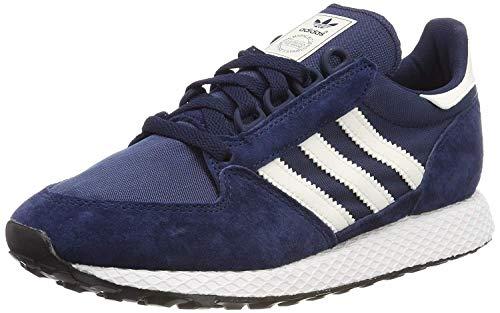 Adidas Forest Grove, Zapatillas de Gimnasia para Hombre, Azul Collegiate Navy/Cloud White/Core Black), 36 EU