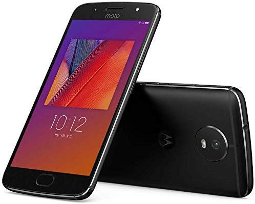 "Motorola Moto G5S 64GB XT1799 Dual SIM 5.2"" LTE Factory Unlocked GSM Only, No CDMA - International Version (Black)"