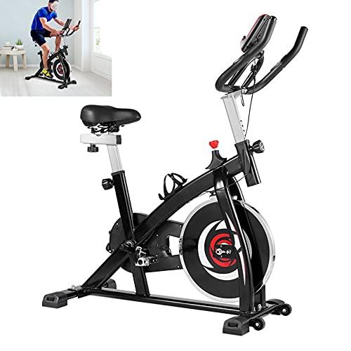 Cyclette Con trasmissione a cinghia silenziosa Spin bike Sensori palmari Cyclette diadora Per l allenamento cardio in palestra a casa