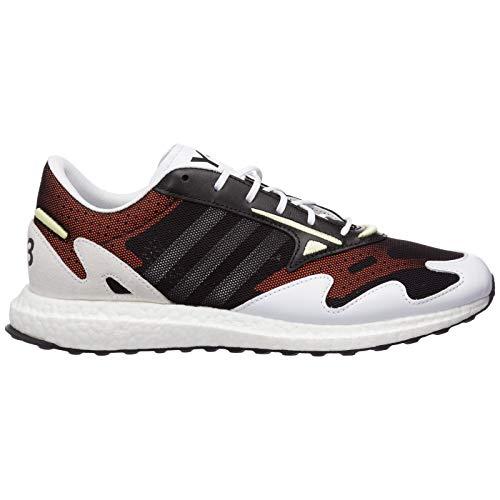 Y-3 Herren rhisu Run Sneaker Bianco 42 EU