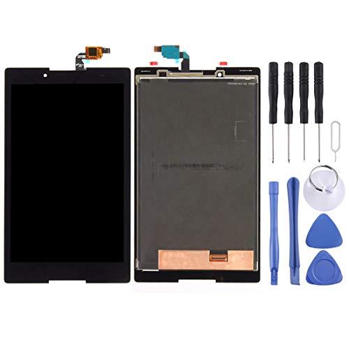 Brillo Alto Pantalla LCD y digitalizador Asamblea Completa for Lenovo Tab3 8 / TB3-850 / TB3-850F / TB3-850M (Negro/Blanco) (Color : Black)