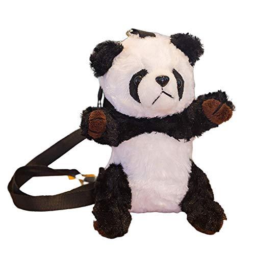 Intramachine, TikTok beliebte heiße Art, Cartoon ins Neue Panda Umhängetasche, niedliche Plüsch Panda Puppe, Kinder kleine Schultasche Geschenk Fabrik Großhandel