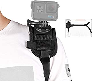 Taisioner Shoulder Mount Strap Clamp for GoPro or Other Action Camera (A Style for Male)