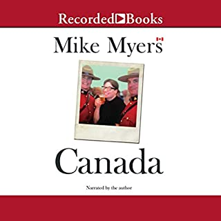 Canada audiobook cover art