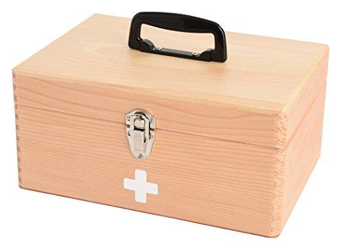 茶谷産業 応急手当品 ブラウン 高さ13.5(18)×幅28×奥行21.5cm