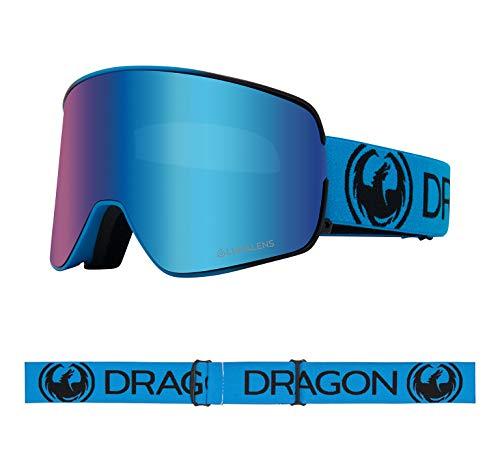 Dragon NFX2 Blueberry Lumalens Blau Ion + Lumalens Bernstein 40458-420 Snow Goggles