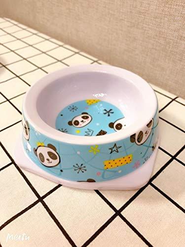 ZKBD-XTQ Anti-slip waterdichte klassieke huisdier voedsel huisdier benodigdheden, Hond kom huisdier kat kat kom mini kleine kat kom hond kom huisdier servies enkele voedsel kom@E_s