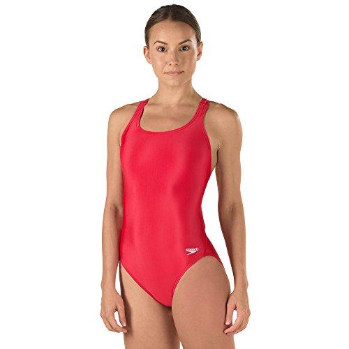 Speedo Girls' Swimsuit - Pro LT Super Pro, 10/26, Speedo Red
